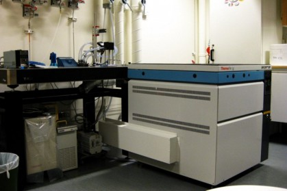 These mass spectrometers are used for time-resolved simultaneous measurements of oxygen (m/z 32, 34, and 36), argon (m/z 36 and 40) and carbon dioxide (m/z 44, 46, and 48) or hydrogen (m/z 2, 3, and 4).